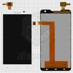 Tela cheia Pioneer S90w Prestígio 5044 de toque LCD