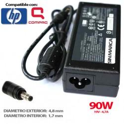Carregador HP 90W 19V 4.74 4.8 x 1.7 COMPATÍVEL