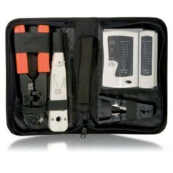 Logilink wz0012 kit de herramientas para cables de red