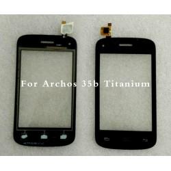 Tela sensível ao toque ARCHOS 35b Titanium touch vidro