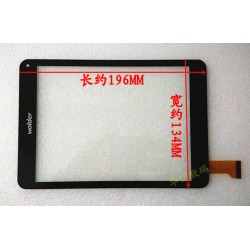 Tela sensível ao toque Wolder miTab IOWA MJK-0270 touch