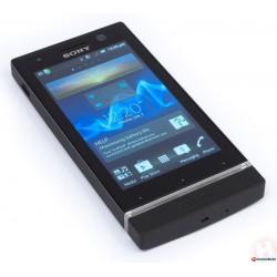 Protetor de tela de silicone para Sony Xperia U ST25i