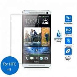 Protetor vidro temperado HTC One M8 Dual QL