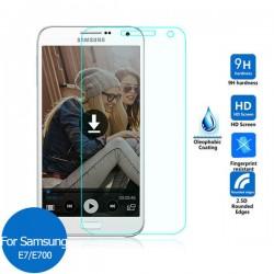 Protetor para Samsung GALAXY E7 Duos E700 vidro temperado