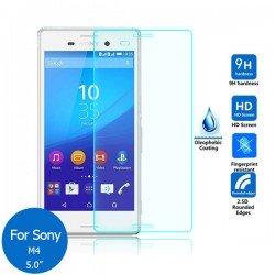 Protetor vidro temperado Sony Xperia M4 Aqua dual E2303 E2306 E2353 E2363