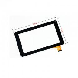 Leotec PULSAR Q LETAB720 vidro tátil display externo ytg-p70025-f1