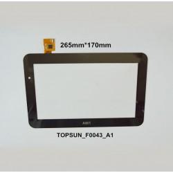 Tela sensível ao toque AIRIS OnePAD 1100x2 vidro touch digitalizador
