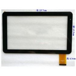 Tela sensível ao toque Wolder Bucareste MJK-0376 touch digitalizador