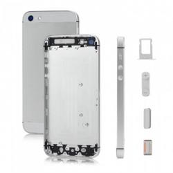 Tampa traseira iPhone 5 A1428 A1429 A1442 prata e branco