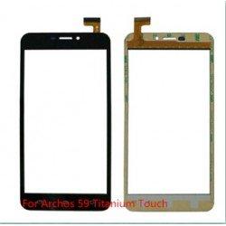 Tela sensível ao toque Archos 59 Titanium vidro touch digitalizador