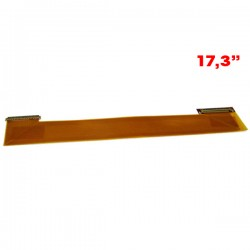 Cabo flex adaptador telas de 17,3 lado esquerdo e direito