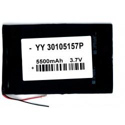 Bateria 3GP GT10K2E 3,7 v 5500 mAh 157x105x34mm