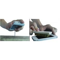 Protetor de tela phablet 6 polegadas 166 por 81mm vidro flexível