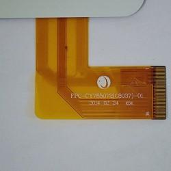 Tela sensível ao toque FPC-CY785072(C8037)-01 touch digitalizador