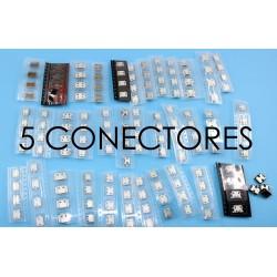 5 Conectores microusb para smartphone ou tablet