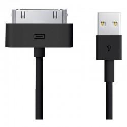 Cabo dados USB iPad 1 Gene. - A1219 / A1337 / iPad 2 / iPad 3