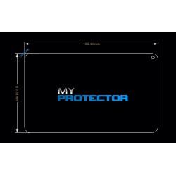Protetor de tela tablet de 7 polegadas 186 x 111mm anti ruptura