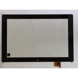 Tela sensível ao toque Wolder miTAB IN 101 vidro digitalizador