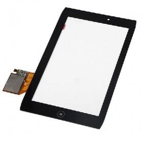 Tela sensível ao toque digitalizadora Acer Iconia A100 negra NC070GG02