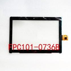 Tela sensível ao toque bq Aquaris M10 FPC101-0736B
