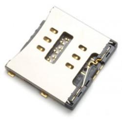 Leitor de MicroSim para iPhone 5C.