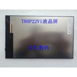 Tela LCD T80P22 RZW T80P22V1 INX80H-LED21