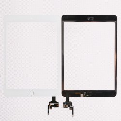 Tela de toque do iPad mini 3 A1599 A1600 inclui chip e botão