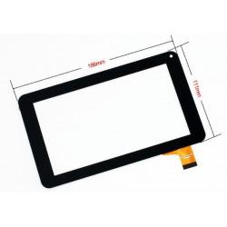 Tela sensível ao toque DENVER Tablet TAQ-70283K FX-86V-F-V2.0 CLV69137A JT-1A