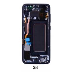 Tela cheia Samsung Galaxy S8 G950F touch e LCD