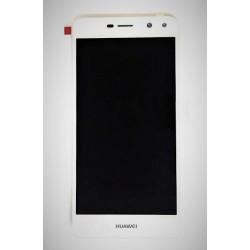 Tela cheia Huawei Y6 2017 sensível ao toque e tela branca