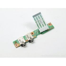 Conector áudio 554H502001G HP Compaq Presario CQ60