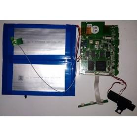 Placa-mãe INET-3F-REV06 cabo de antena, alto-falantes e botão de volume e power YARVIK TAB466
