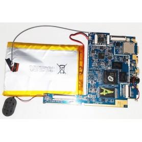 Placa base com alto-falante e com um cabo de antena Xtreme tab X81