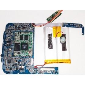 Placa-mãe BLY-706F-10 e com botões de volume e power Wolder miTab CITY Pro
