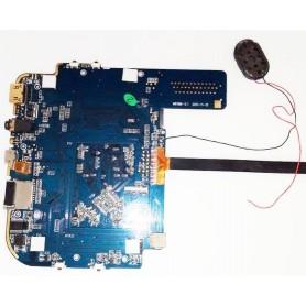 Placa-mãe M818M-5.1 com câmera frontal e o alto-falante Wolder miTab CITY Pro
