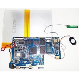 Placa-mãe XZH_1001_3G-V2.01 alto-falante e antena, cabo Woxter 101 IPS DUAL