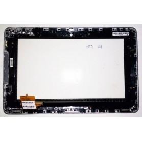 Tela sensível ao toque Toshiba Folio 100 com moldura