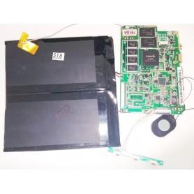 Placa-mãe alto-falante, botões de power e volume e o cabo de antena ao Terminar Touch 96