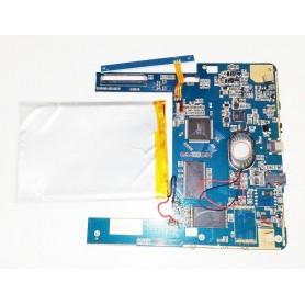 Placa-mãe F12_E200_V1.3 alto-falante e botões de power e volume Energy Sistem Cor eReader C7