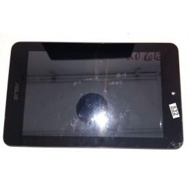 Quadro com toque amadeirado e LCD quebrado Asus Memo Pad HD 7 ME173 ME173X K00b