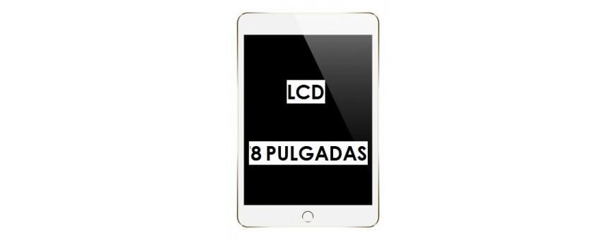 PANTALLAS LCD 8 PULGADAS