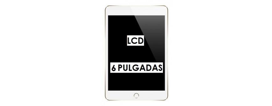 PANTALLAS LCD 6 PULGADAS